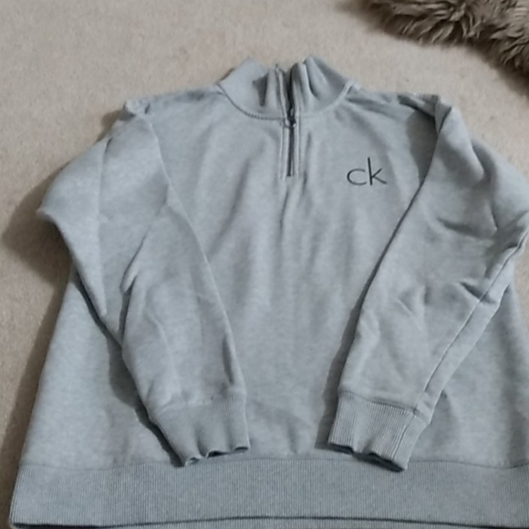 Calvin Klein 3/4 zip sweater